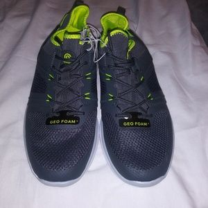 b30a3f09433 Champion Shoes - Champion Mens Grey and Lime Green Tennis Shoes